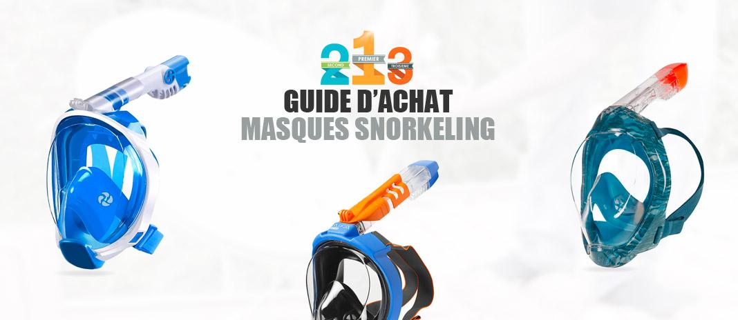 meilleur masque snorkeling